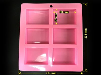 rectangular soap silicome mold CCM-033
